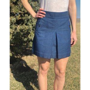 Loft Denim School Girl Skirt